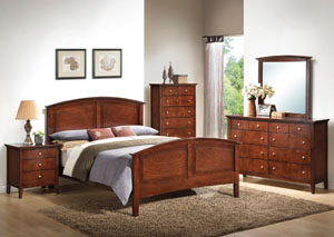 Whiskey Queen Panel Bed