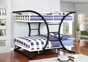 Lexis Full Platform Bunk Bed,Furniture of America
