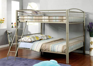 Lovia Full Metal Bunk Bed,Furniture of America