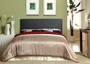 Winn Park ll Dark Grey Leatherette Queen Headboard,Furniture of America