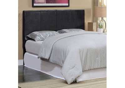 Winn Park ll Espresso Leatherette Queen Headboard,Furniture of America