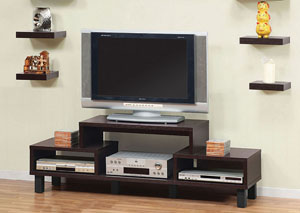 Red Cocoa TV Stand