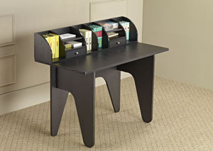 Black Office Desk