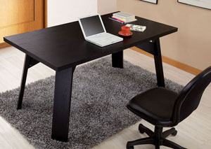 Matte Black Dining Table / Office Desk