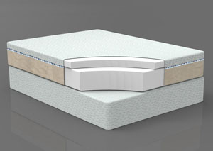 12'' King Memory Foam Mattress