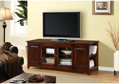 Two Door TV Stand - Oak