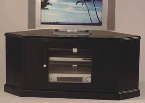 Corner TV Stand (Black)