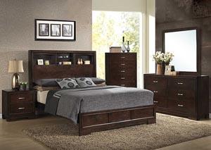 Helen Queen Bed, Dresser & Mirror