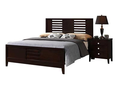 Lily Queen Bed,Global Furniture USA