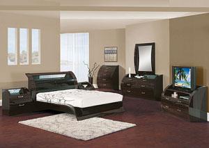 Madison Queen Bed, Dresser, Mirror & Chest