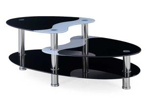 Black & White Coffee Table