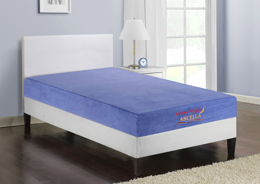 Mattress World Furniture Philadelphia Pa Ascella Blue Twin Mattress