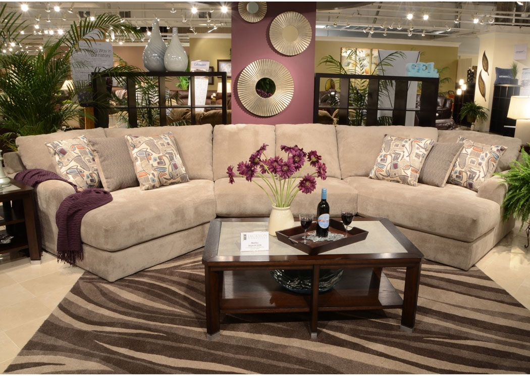 Orleans Furniture Malibu Taupe Small Sectional