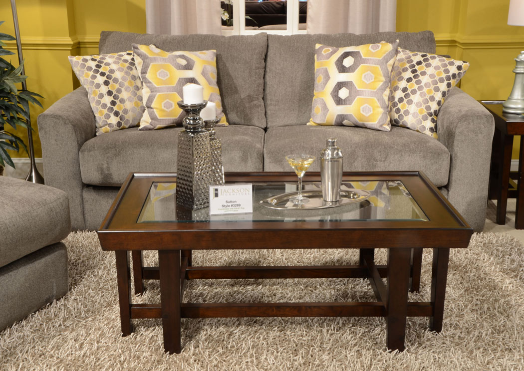 Furniture Distributors - Havelock, NC Sutton Cobblestone Sofa