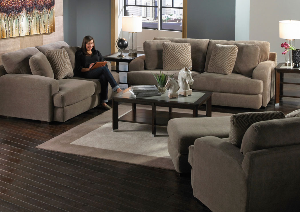 Corvin's Furniture and Flooring Palisades Porcini Loveseat