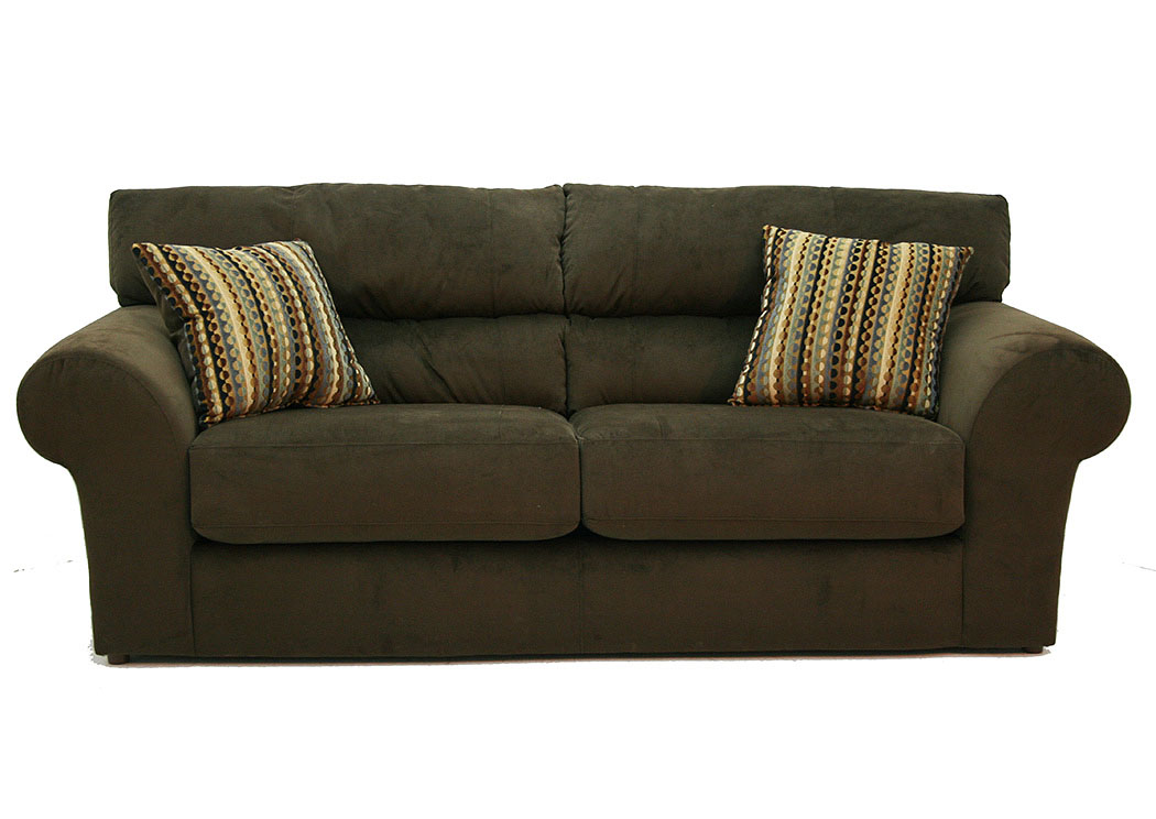 Hornell furniture outlet mesa chocolate sofa loveseat for V furniture outlet palmdale