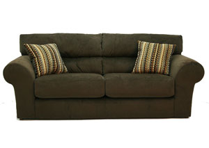 Mesa Chocolate Sofa & Loveseat,Jackson