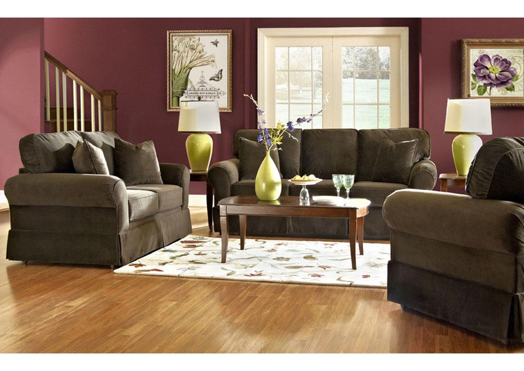 Chatham furniture savannah ga woodwin chocolate sofa for Klaus k living room brunssi