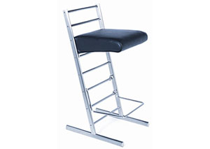 3 in 1. It's a Chair + It's a Counter Stool + It's a Bar Stool.