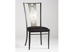 Alexis Laser Cut Back Side Chairs (Set of 4)
