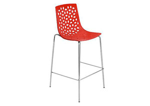 Lola Bar Stools - Red