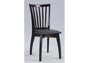 Chantel Solid Oak Side Chair (Set of 4)