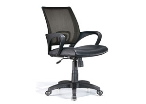 Officer Office Chair - Black