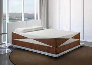 Cool Breeze Queen Gel Mattress & Foundation