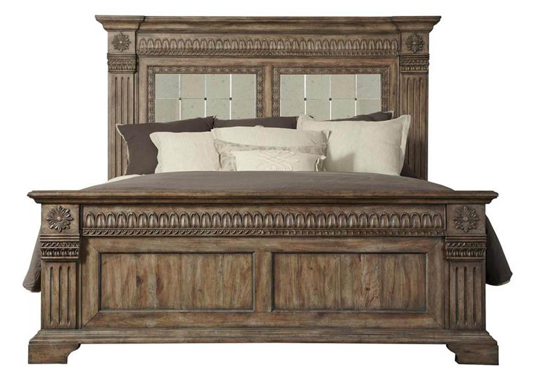 Harlem Furniture Arabella California King Panel Bed
