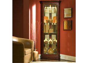 Corner Curio,Pulaski Furniture