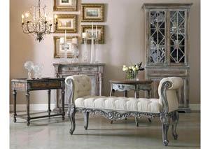 Accentrics Home Accent Bench,Pulaski Furniture