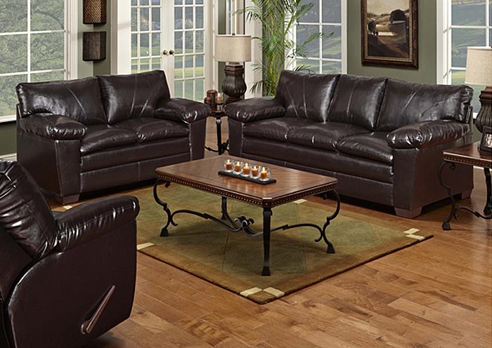 Overstock Furniture Langley Park Catonsville Alexandria Lanham Walnut Sofa
