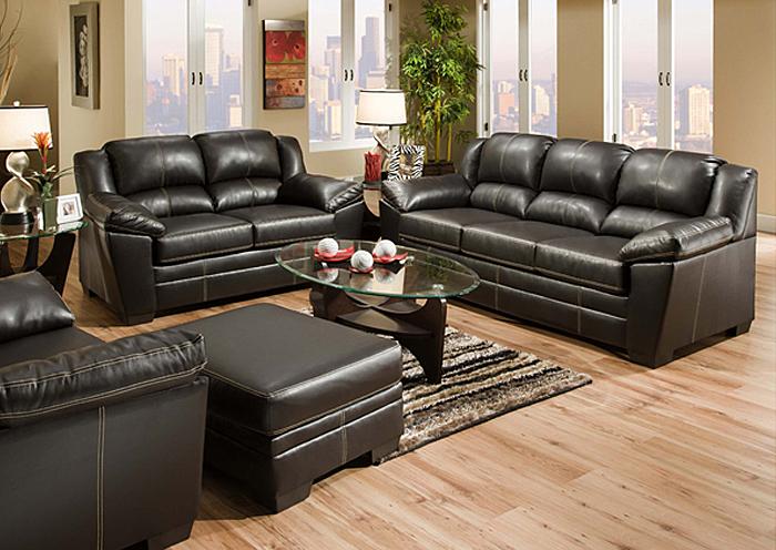 Overstock Furniture Langley Park Catonsville Alexandria Lanham Urban Onyx Sofa